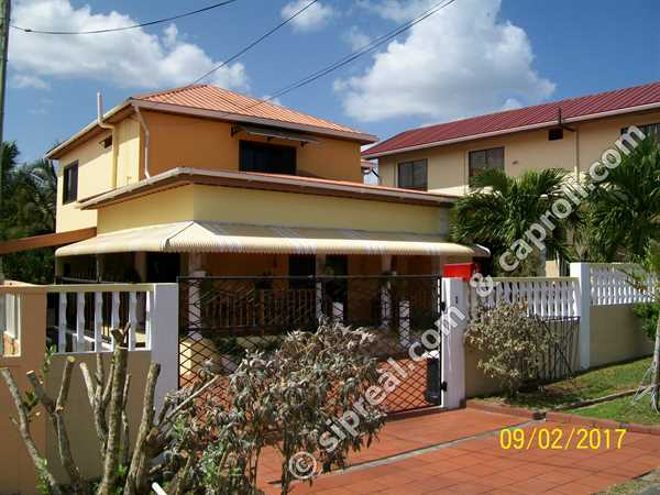 Caribbean homes trinidad fsbo 3 bedroom family home for 3 bedroom house plans in trinidad