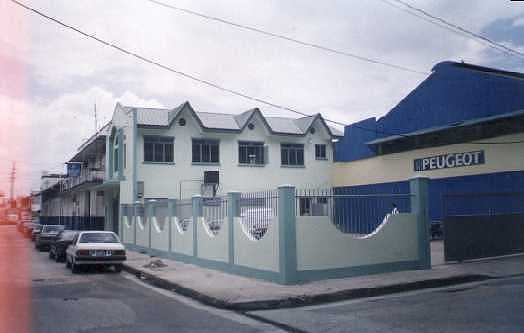 Port-of-Spain - 2002. PTSC Credit Union Building.