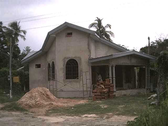 Caribbean homes trinidad and tobago construction photo for Trini homes